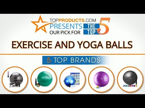 Best Exercise and Yoga Ball Reviews 2017 – How to Choose the Best Exercise and Yoga Ball