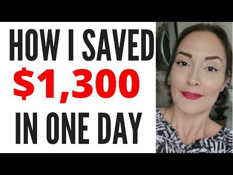 HOW I SAVED 1300 DOLLARS IN A DAY ● STORY TIME ● SPILLING THE TEA ● HOW TO SAVE MONEY FAST