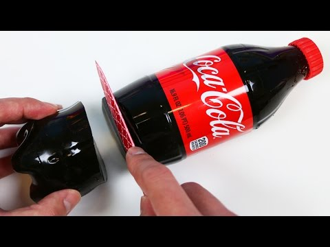 How to Make a HUGE Gummy Coca Cola Bottle Shape!
