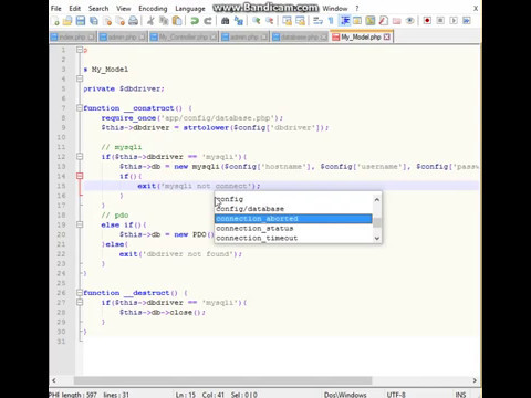 Create OOP PHP Framework MVC for 80 minutes Part 6