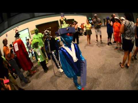 Alien Costume Contest Kid's Creative Category