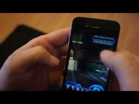 SWTOR on iPhone (CrazyRemote)