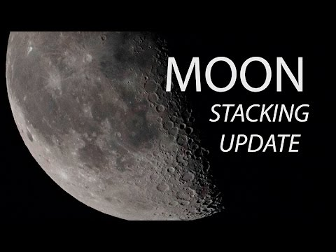 Moon Stacking Update  (if you encounter an error message in PS)