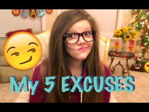 EATING DISORDER TRIGGERS & EXCUSES