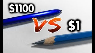 S Pen Galaxy Note 10+ Vs Real Pen - COMPARISON and Drawing Test