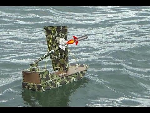 DIY Boat from Cardboard