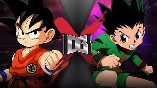 Goku VS Gon (DBZ VS Hunter X Hunter) | DBX