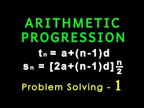 Arithmetic Progression | Problem Solving 1 | Algebra | Math | LetsTute