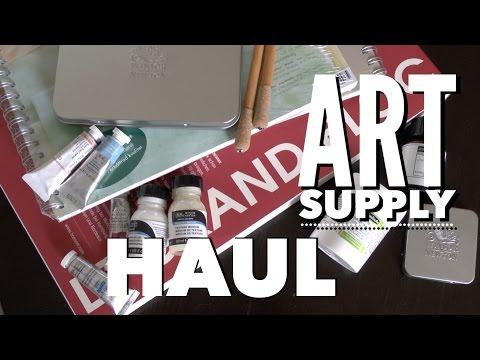 Watercolor Art Supply Haul