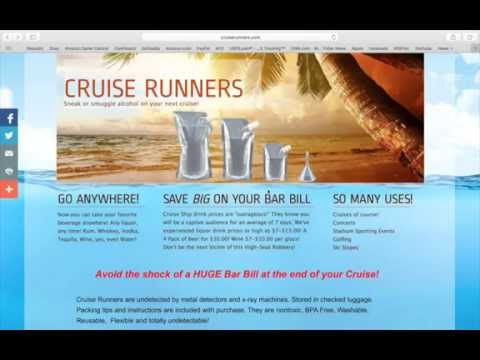 Smuggle Alcohol Onto A Cruise
