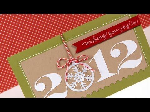 Friday Focus - 2012 (Ornament Card)
