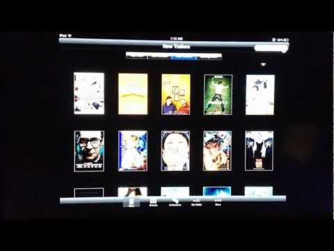 Vudu iPad App Review Rent Buy & Watch HD Movies And TV Shows On-Demand