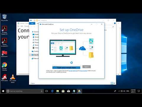 How to Connect and Sync files with OneDrive for Business in Windows 10