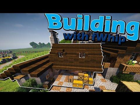 Building with fWhip :: Village Blacksmith transformation #042 Minecraft 1.12 Survival