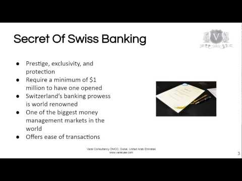 Swiss Bank Accounts Might Not Be Your Best Choice