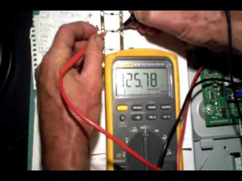 How to find out short circuit of Philips power supply