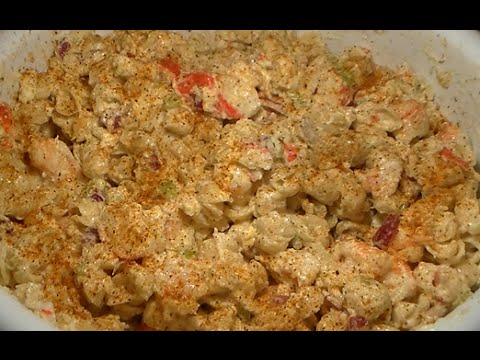 Seafood Shrimp Lobster Crab Pasta Salad Recipe: How To Make Seafood Salad