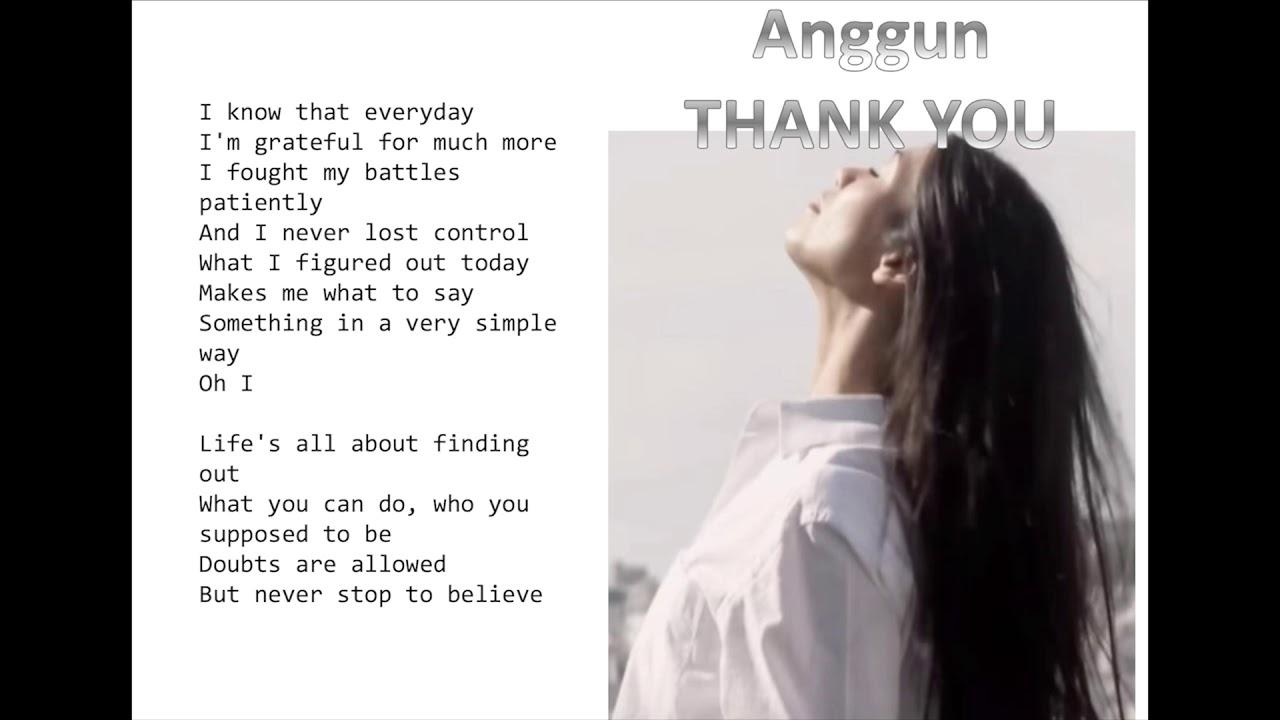 Anggun - Thank You