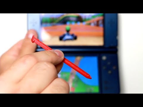 3D Printing a 3DS Stylist/Stylus!!!