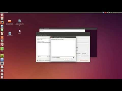 How to add different keyboard languages on Ubuntu 14.04 LTS (HD)
