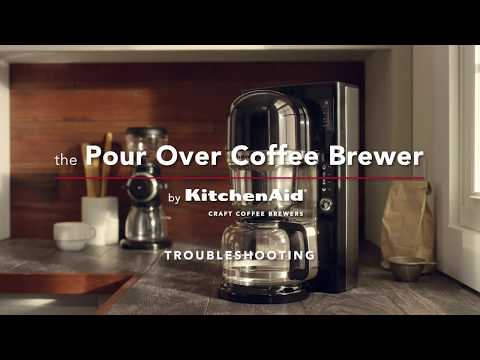 How to: Troubleshoot the KitchenAid Pour Over Coffee Brewer | KitchenAid