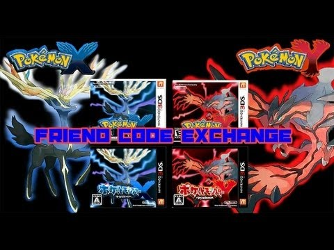 Friend Code Exchange for Pokémon X and Y Players