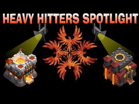 HEAVY HITTERS SPOTLIGHT-CLASH OF CLANS-TH11&10
