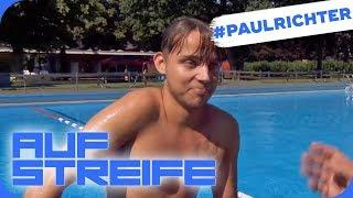 Pöbeln im Schwimmbad: Ein lang geplantes Ablenkungsmanöver | #PaulRichterTag | Auf Streife | SAT.1