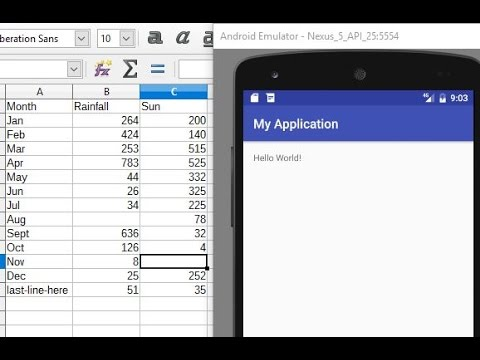 Read CSV Resource File: Android Programming