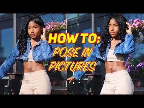 HOW TO POSE FOR PICTURES| 10 EASY Poses For Instagram