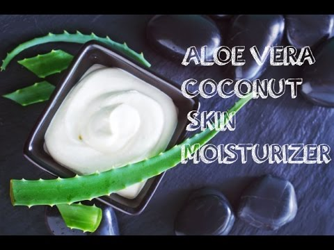 DIY 3-Ingredient Coconut-Aloe Vera Skin Moisturizer
