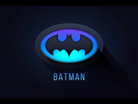 Illustrator Tutorial | Batman Logo Design