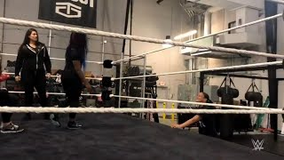 Shayna Baszler strikes again at the WWE Performance Center: Exclusive, Jan. 9, 2018