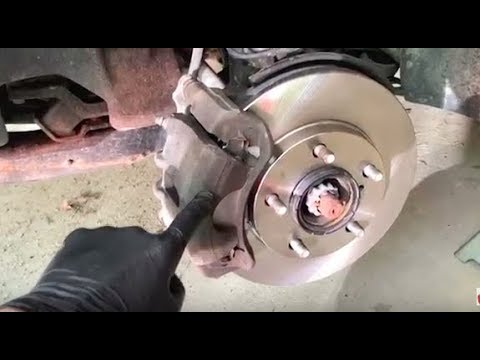 Replace Brake pads & Rotors on Toyota Camry/Corolla - FAST & EASY