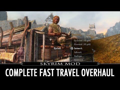 Skyrim Mod: Complete Fast Travel Overhaul