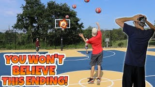 THE MOST INSANE HALFCOURT CHALLENGE OF ALL-TIME!! *MUST SEE*