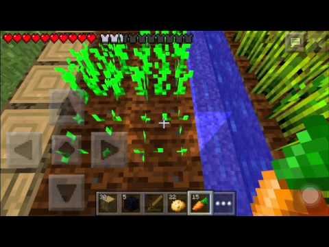 Minecraft PE 0.9.5-Multiplayer-Episode 2-Pet Chicken