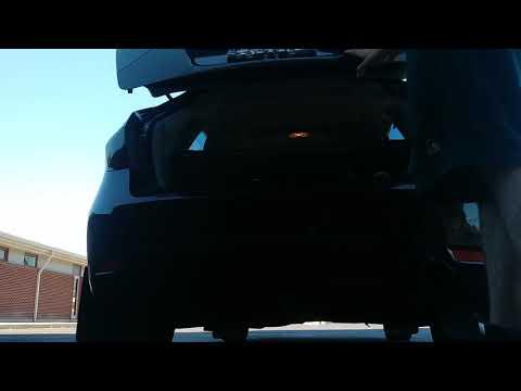 2008 Subaru Impreza Hatchback Full Straight Pipe. (Updated)