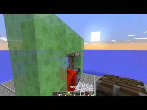 WORKING SUBMARINE IN MINECRAFT! Minecraft 1.8 Update Snapshot