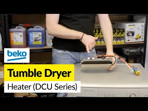 How to Replace a Beko Tumble Dryer Heater (DCU series models)