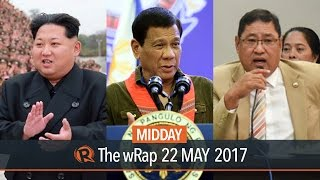 Impeachment complaint, Duterte honorary doctorate, North Korea | Midday wRap