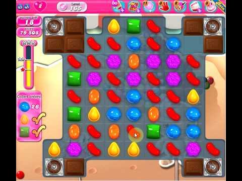 Candy Crush Saga level 165 - No boosters