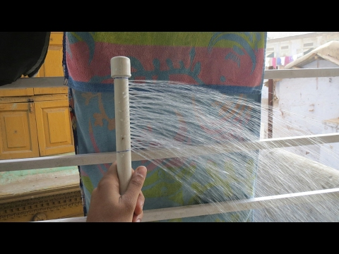 How to make a shower at home - weekend fun