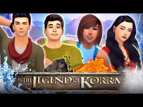 🌪💧☄️🔥THE LEGENDS OF KORRA💧☄️🔥🌪 In the Sims 4!