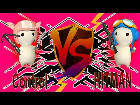 HITMAN VS Control - Capture The Milk [MilkChoco Clan Battle]