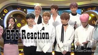 BTS reaction at JISOO singing Spring Day