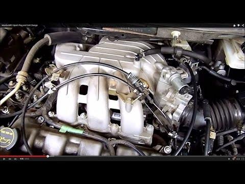 Mazda MPV Spark Plug and Coil Change