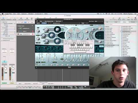 Logic Pro 9 Tutorial - Bass Drops