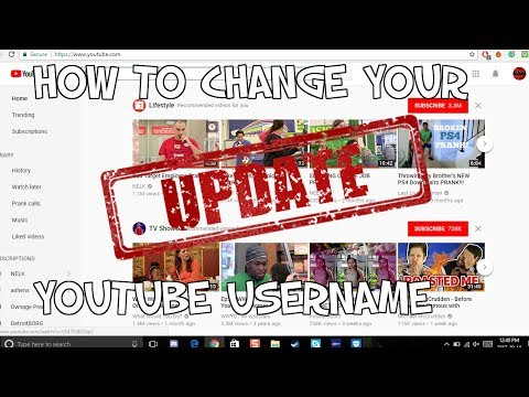 How to Change Your Youtube Channel Name! (Updated Layout)