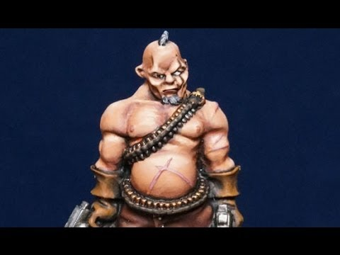 How to Paint Flesh on Miniatures